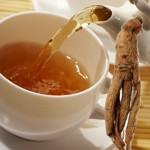 Ginseng Tee, Kapseln, Pulver, Dragees oder Creme