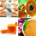 weiter zu - Lebensmittel mit Vitamin A / Tabelle