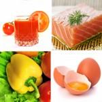 weiter zu - Nahrungsmittel mit Vitamin A