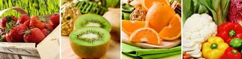 Nahrungsmittel mit Vitamin C