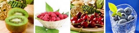 Basische Lebensmittel - Tabelle / Liste zusätzlich im Sommer