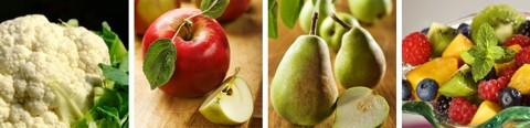 Basische Lebensmittel - Tabelle / Liste zusätzlich im Herbst