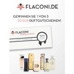 zum Gratis Gewinnspiel - Gutscheine für Parfümerie Flaconi