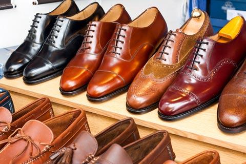 Herrenschuhe – Schnürer, Slipper und Stiefeletten