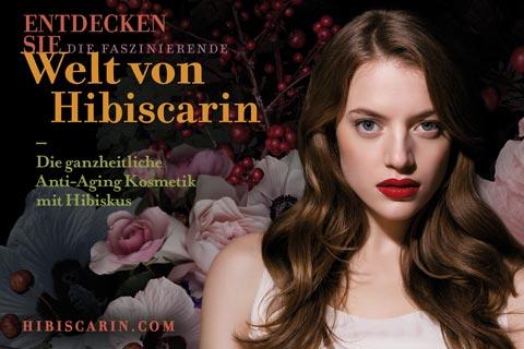 Anti-Aging Kosmetik von Hibiscarin