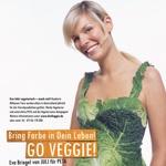weiter zu - Eva Briegel im Kohloutfit