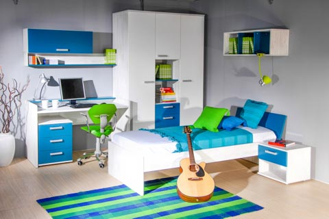 Farbgestaltung Für Jugendzimmer   Ideen Für Harmonische Farben