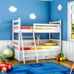 weiter zu - Farbgestaltung für Kinderzimmer