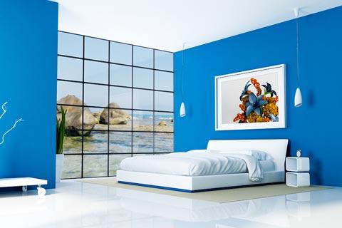 durch farbgestaltung f r w nde die raumwirkung beeinflussen. Black Bedroom Furniture Sets. Home Design Ideas
