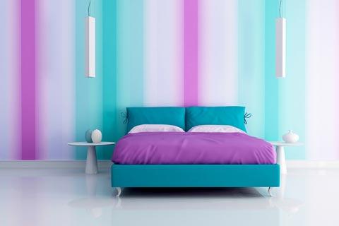 comschlafzimmer farblich gestalten schlafzimmerwand gestalten, Wohnzimmer design