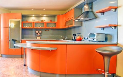 Küchen Farbgestaltung und Farben für Küchen