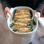 weiter zu fettarme Rezepte - Omelette-Cannelloni