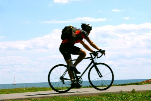 Freizeitspaß - Rad fahren