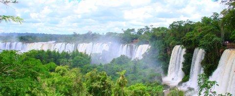 Reiseziele im November - Wasserfälle von Iguazu