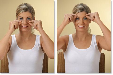 Mit Zupfmassage das Gesicht straffen Abb 5 und 6