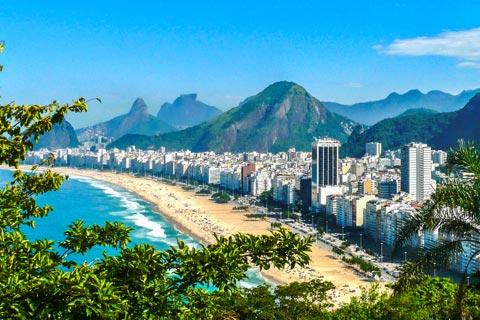 Reiseziele für Urlaub in Brasilien