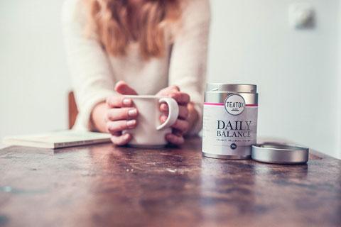 TEATOX sorgt für eine ausgeglichene  Work-Life-Balance