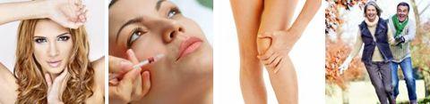 Behandlungen mit Hyaluronsäure und Therapien