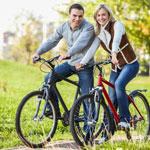 weiter zu - Abnehmen mit Radfahren
