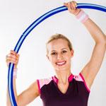 weiter zu - Abnehmen mit Hula Hoop Training