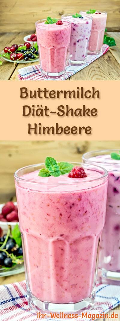 Buttermilch Shake Mit Himbeeren Diat Shake Rezepte Mit Buttermilch