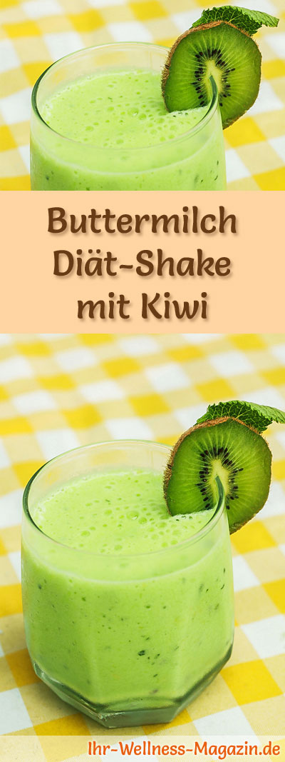 buttermich shake mit kiwi di t shake rezepte mit buttermilch. Black Bedroom Furniture Sets. Home Design Ideas