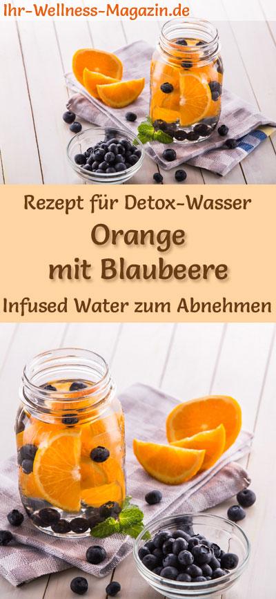 Orangen Blaubeer Wasser Rezept Fur Infused Water Detox Wasser