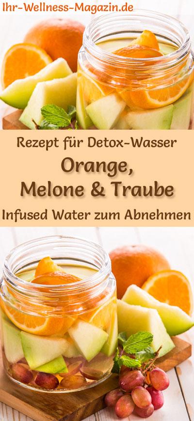Orangen Melonen Trauben Wasser Rezept Fur Infused Water Detox Wasser