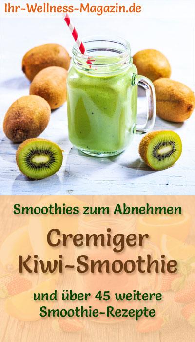 Kiwi Smoothie Gesundes Rezept Zum Abnehmen