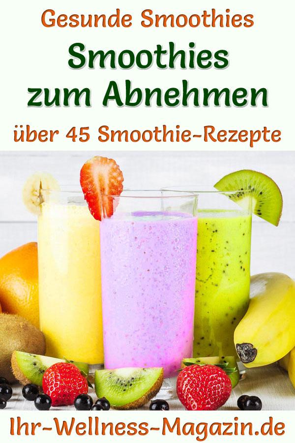Natürliche Frucht Smoothie Rezepte zur Gewichtsreduktion