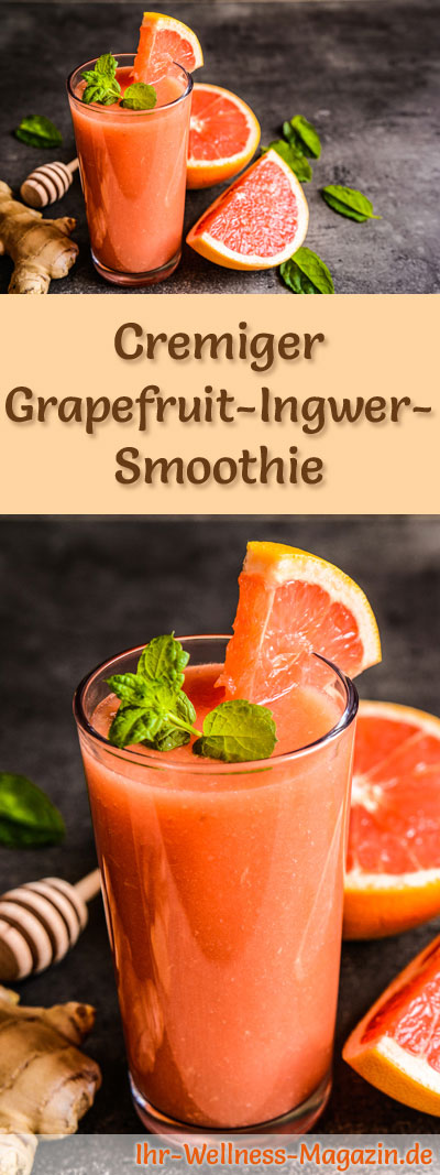 grapefruit ingwer smoothie gesundes rezept zum abnehmen. Black Bedroom Furniture Sets. Home Design Ideas