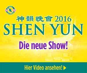 Shen Yun 2016 - die neue Show