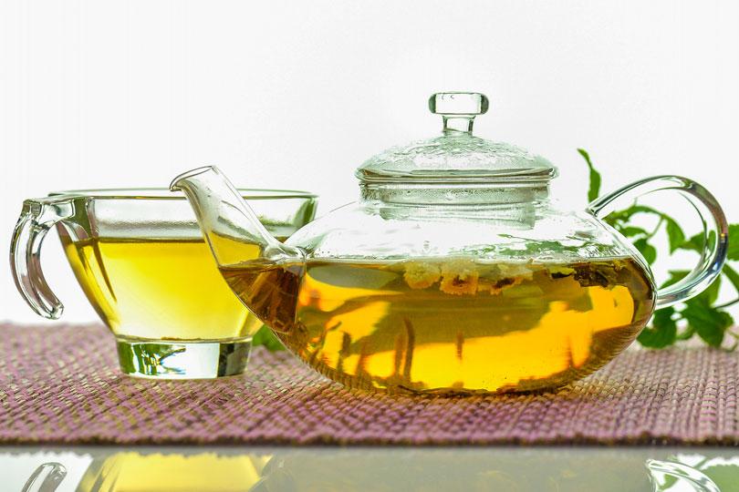 Teesorten zum Abnehmen - gesunde Fettverbrenner
