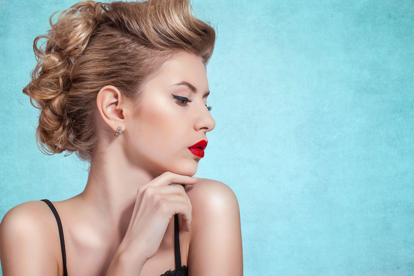 Elegante Frisuren für Feste, Feiern und Partys