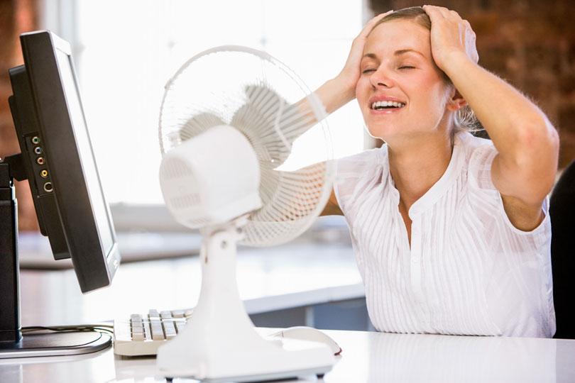 15 Tipps gegen Schwitzen - helfen bei Sommerhitze
