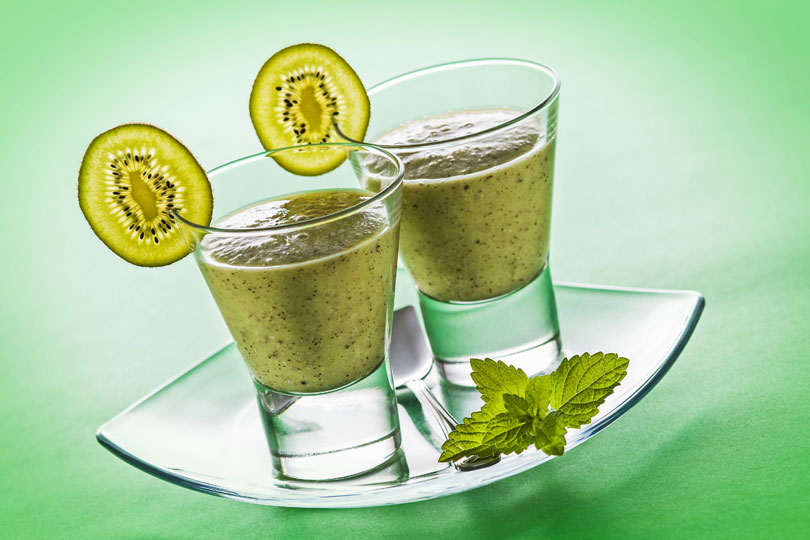 Rezepte für Grüne Smoothies zum Entsäuern, Entgiften, Abnehmen ...