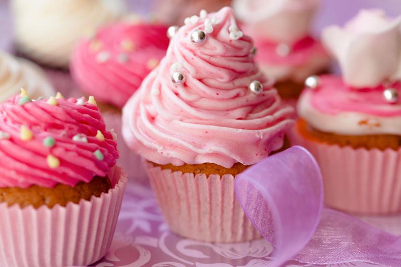 Low-Carb-Cupcakes - leckere Rezepte für gesunde Cupcakes ohne Zusatz von Zucker