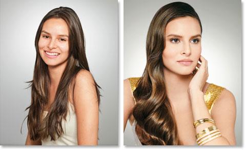 Frisuren zum Selbermachen: Anne vorher und nachher