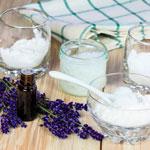 Zubehör zur Herstellung von selbstgemachter Kosmetik