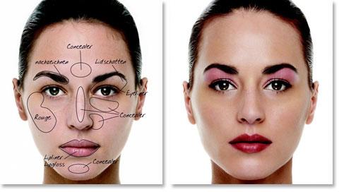 Das Gesicht schminken - eine Anleitung von Boris Entrup für ein ausdrucksstarkes, natürliches Gesichts-Make-up