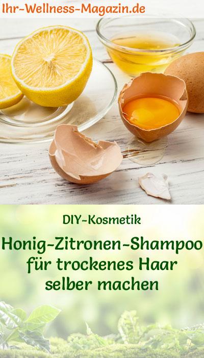 shampoo selber machen rezept honig zitronen shampoo f r trockenes haar. Black Bedroom Furniture Sets. Home Design Ideas