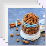 weiter zu - Gebrannte Mandeln und Nüsse