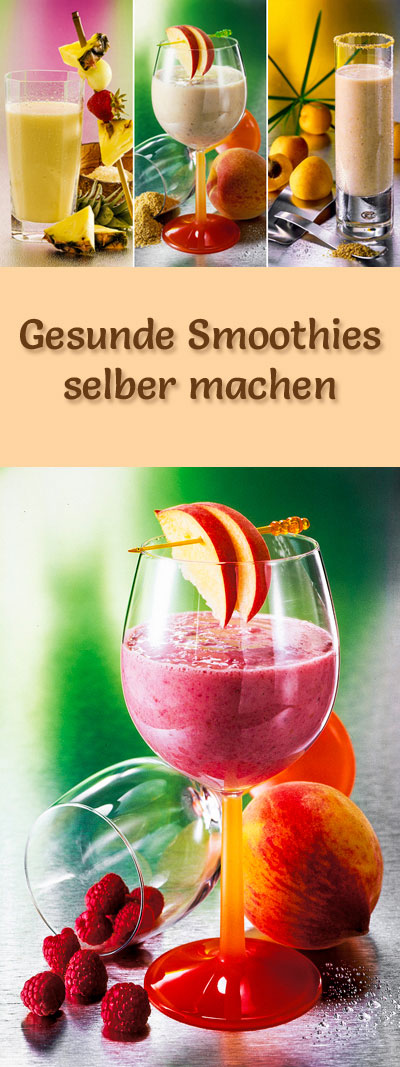 gesunde smoothies selber machen 15 leckere smoothie rezepte. Black Bedroom Furniture Sets. Home Design Ideas