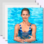 Aquafitness: Übungen im Wasser