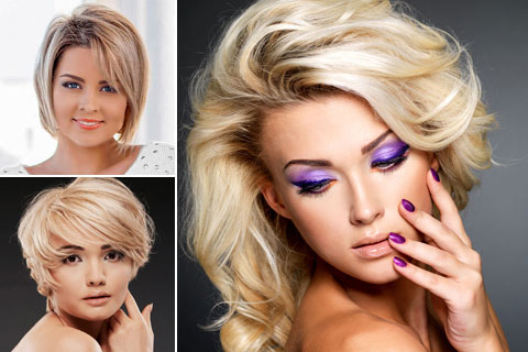 Frisuren blond frauen