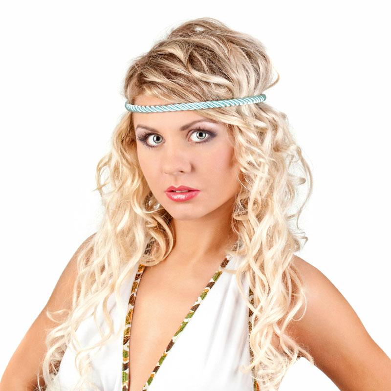 Blonde Hippie Frisur Im Ombré Look Blonde Lange Haare