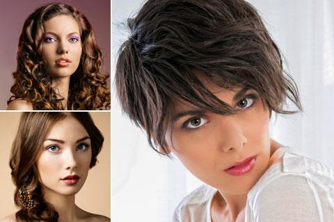 Frisuren für braune Haare