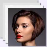 zur Bildergalerie - Braune kurze und mittellange Haare