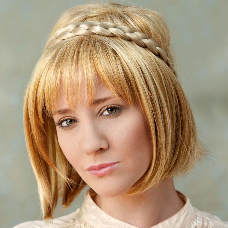 Sommer Flechtfrisur Für Mittellange Haare Geflochtene Haare Und