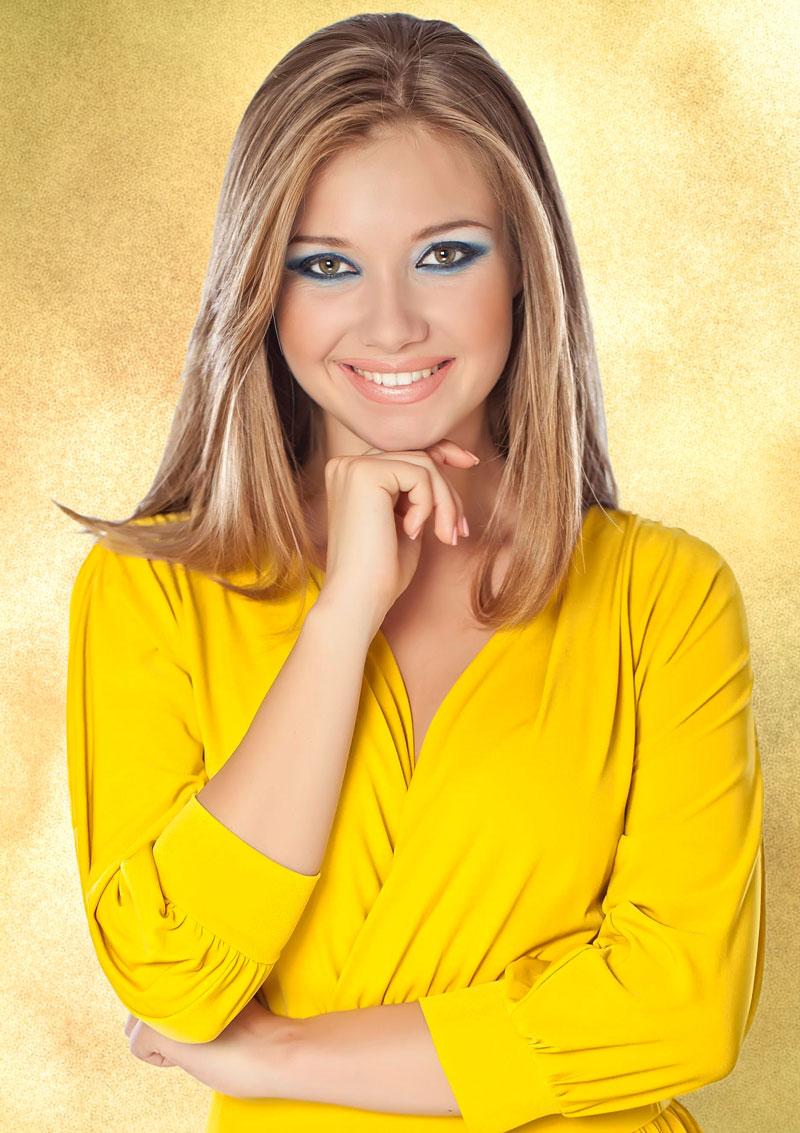 In blonde dunkelblondem haar strähnen Blonde Haare: